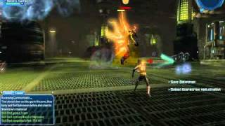DC Universe Online-Scarecrow gameplay.