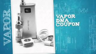 Weekly updated Vapor DNA Vapordna Coupon Codes