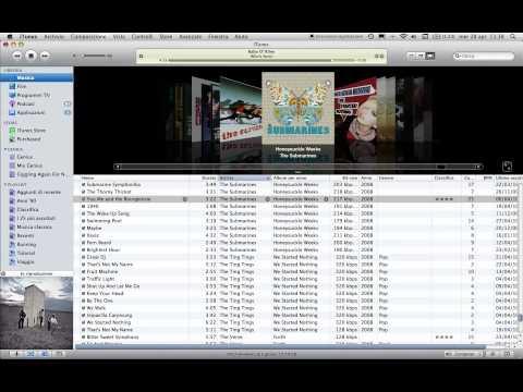 Importazione CD audio in iTunes