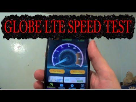 Globe LTE Mobile Data Internet Speed Test Cebu City Philippines ✅