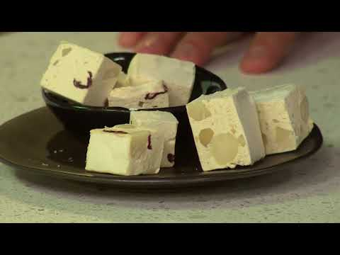 Macadamia and Cranberry Nougat | Afternoon Express | 2 November 2017
