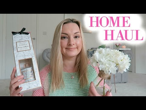 HUGE HOME HAUL MARCH / APRIL 2018 | B&M HAUL | HOME DECOR AND MORE | MRS SMITH & CO.