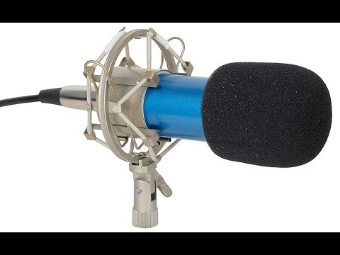 Unboxing and how to configure BM 800 Condenser Microphone