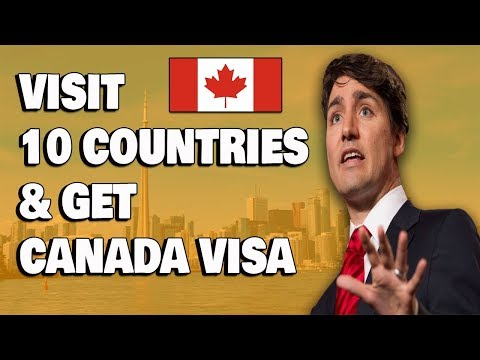 Visit 10 Countries To Get Canada Visa Tourist Base