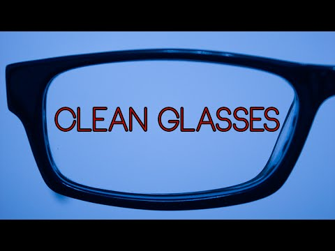 How To PROPERLY Clean Glasses For Free