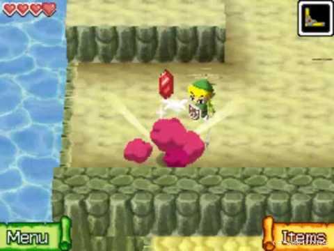 The Legend of Zelda Phantom Hourglass Walkthrough -Isle of Gust- Part 11
