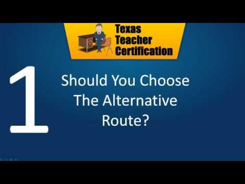 Alternative Teacher Certification Tips