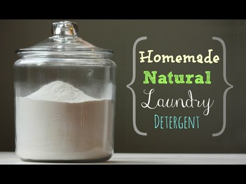 How To Make Your Own Laundry Detergent Easily