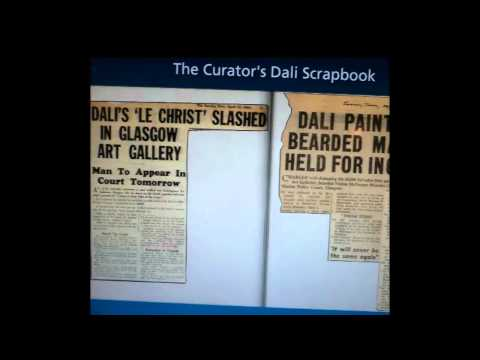Scotlands Favourite Painting- Salvador Dali- Christ of Saint John of the Cross- Kelvingrove Glasgow