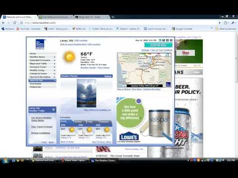 Weather app for your desktop