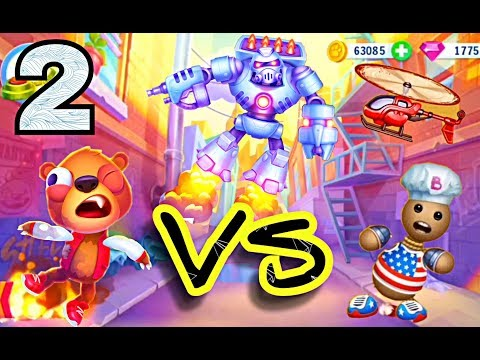 Kick the Buddy VS Despicable Bear. Gameplay Walkthrough Part 2 - All Stuff Power of Gods (iOS)