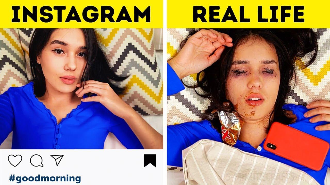 INSTARGAM VS REAL LIFE