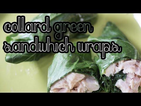 Collard Green Sandwich Wrap | LOW CARB & GLUTEN FREE