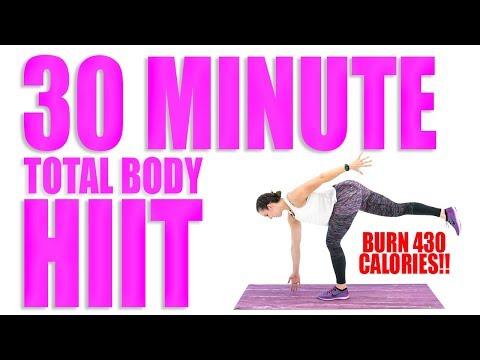 30 Minute Total Body HIIT 🔥Burn 430 Calories! 🔥