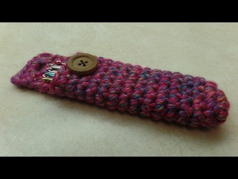 CROCHET How to #Crochet Easy Crochet Hook Holder Carrier #TUTORIAL #307 LEARN CROCHET