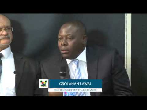 Hon. Gbolahan Lawal on Training Entrepreneurs for Agriculture - CEO FORUM