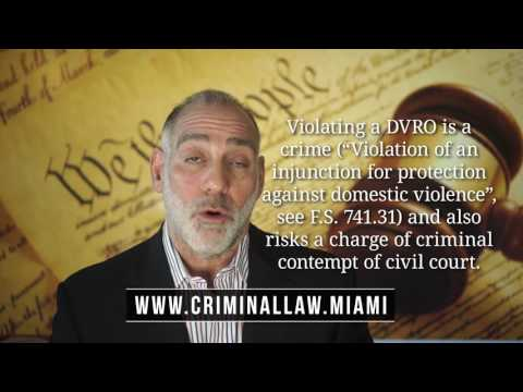 211) What's the difference between a DVRO and a Stay Away Order? Michael Haber Miami Lawyer