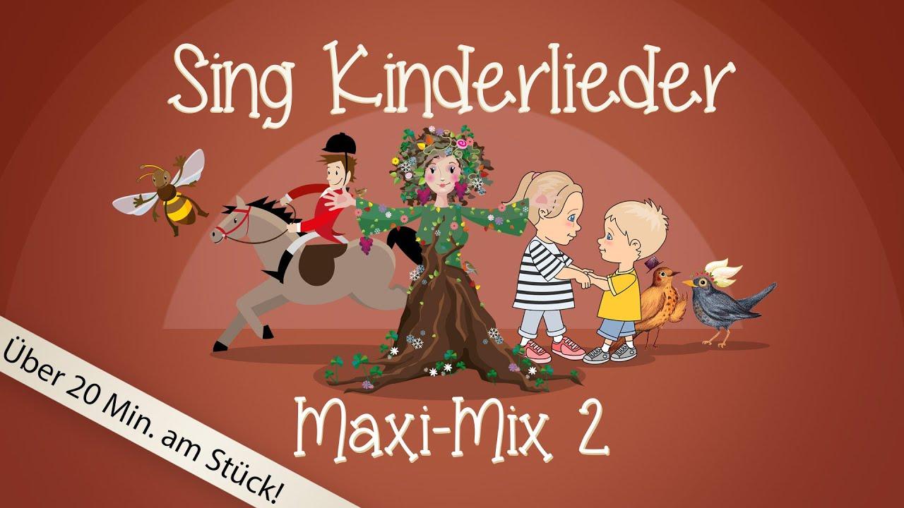 Sing Kinderlieder Maxi-Mix 2: Hänschen klein u.v.m. - Kinderlieder zum Mitsingen | Sing Kinderlieder
