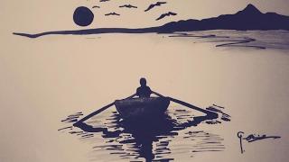 Deniz Manzaralı 199 Izim Deniz Ve Yelken 231 Izimi Music Jinni