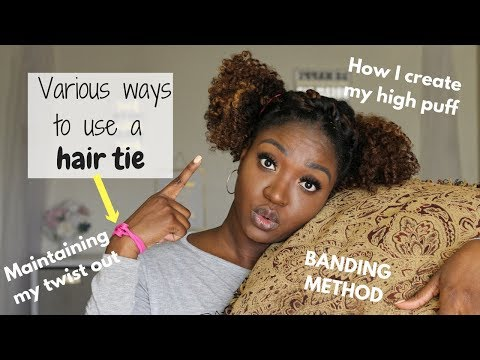 How To Use Snappee Hair Ties | Natural Hair