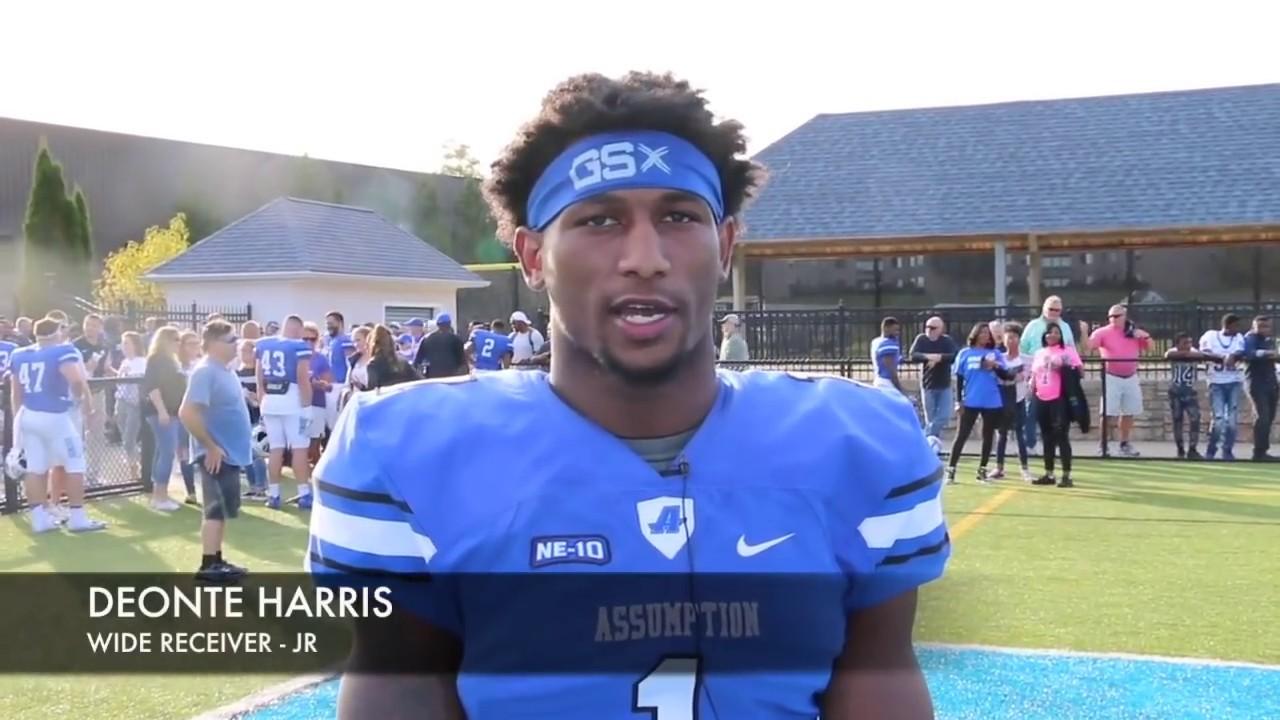 Deonte Harris || 2017 Assumption College Highlights