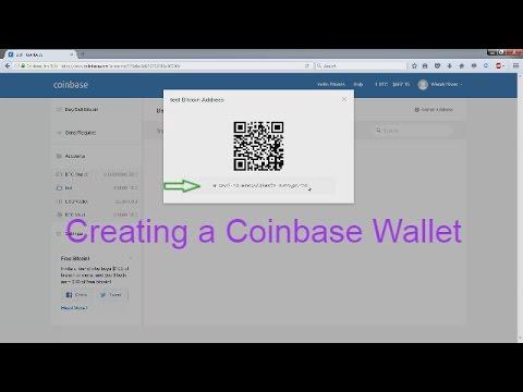 How to create a Bitcoin Wallet (Coinbase)