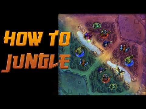 How to Jungle - New version available! Click for a link!