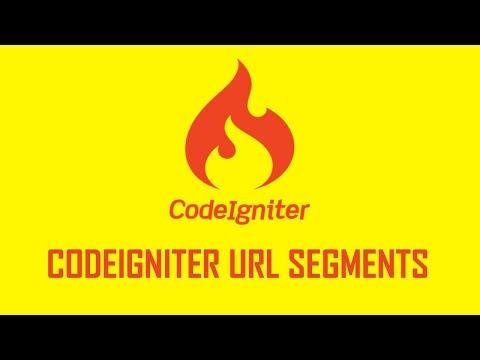 4. Understanding CodeIgniter URL segments