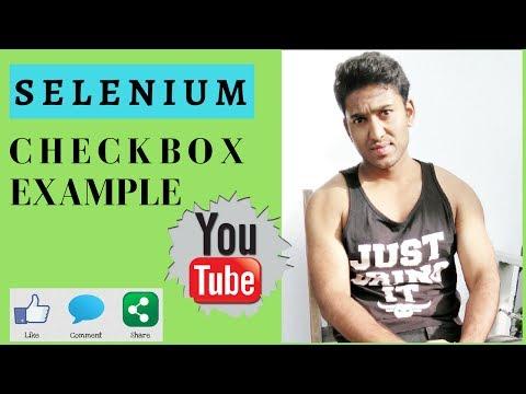 Select checkbox in selenium java | select multiple checkbox | selenium tutorial for beginner