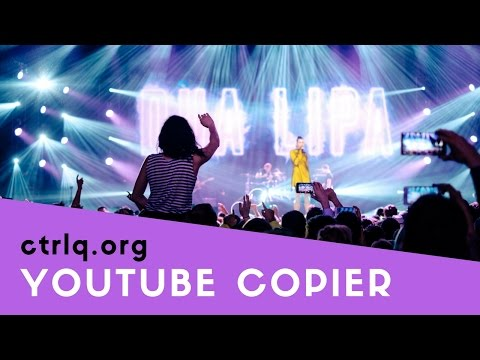 YouTube Copier - Make any YouTube Playlist your own!