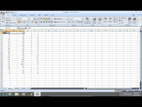 How to merge Cells in Excel 2007