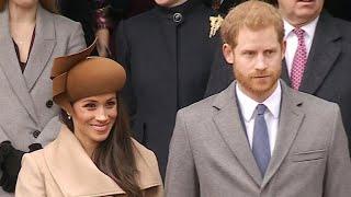 Meghan Markle joins royal Christmas celebration