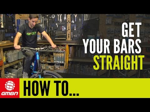 How To Get Your Bars & Stem Perfectly Straight | Mountain Bike Maintenance