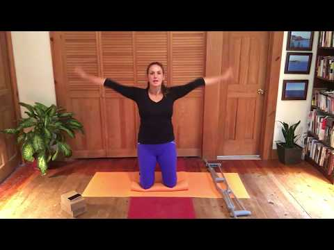 Yoga for a Broken Foot/Ankle/Leg (60 Minutes, Level 2 with music)
