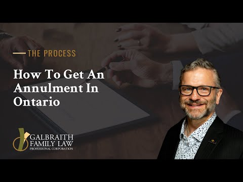 How To Get An Annulment In Ontario