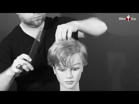 Charlize Theron Haircut Tutorial - Women's Haircut