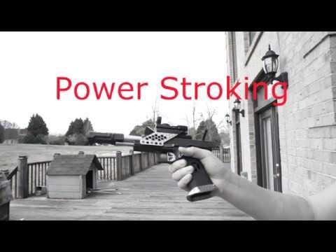 Nondestructive Airsoft Pistol Power Stroke Mod