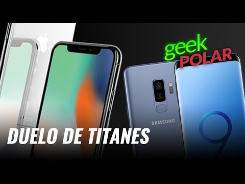 Samsung Galaxy S9+ vs iPhone X - GeekPolar