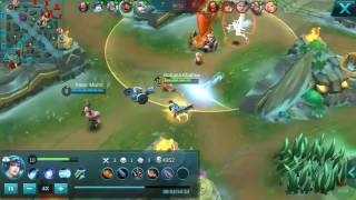 Perfect Hero Layla - Quadra kill - Mobile Legends Gameplay