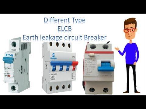 ELCB type circuit breaker  type ELCB by earthbondhon