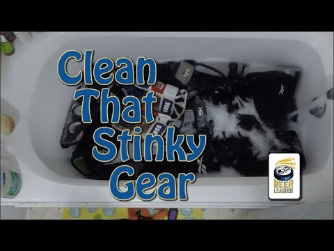 The Beer Leaguer - Clean That Stinky Gear..at home...in your bathtub..seriously, for everyone else