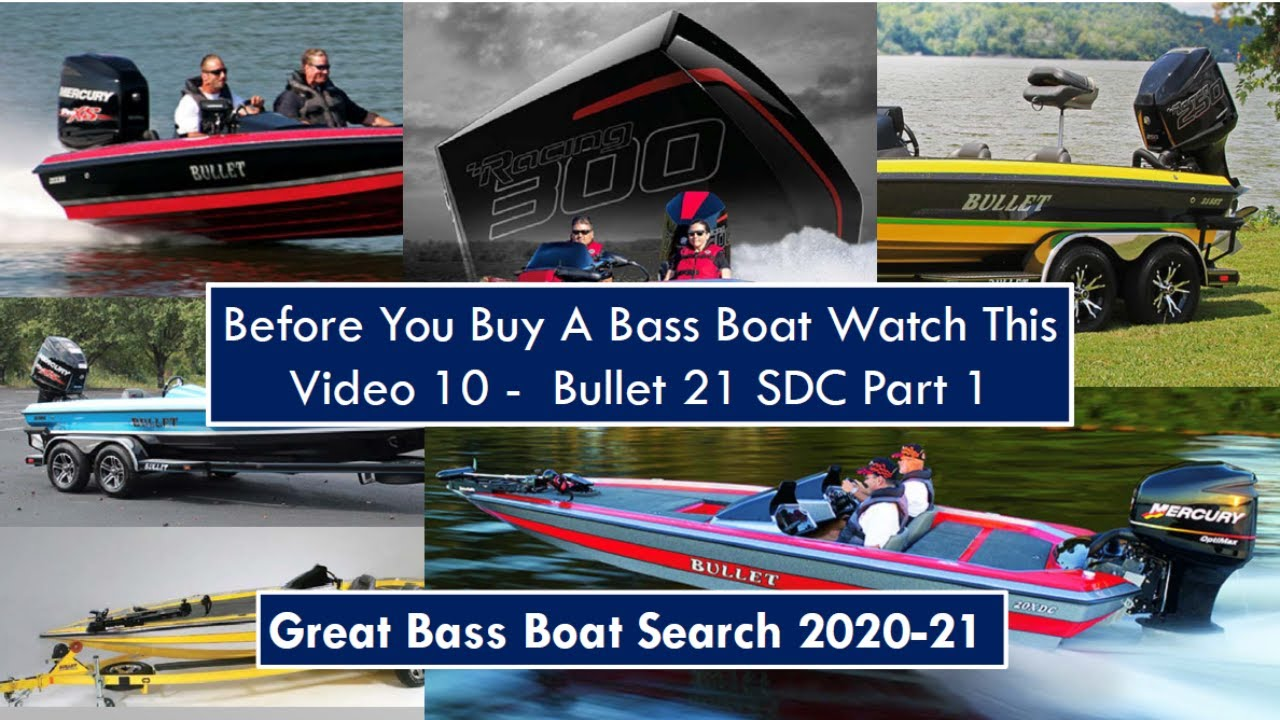 Bullet 21 SDC Part 1 - Before You Buy a Bass Boat Watch This Video - Video 10