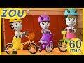 Zou en español 🏁 COMPETICIONES 🚴♀️ 60 min RECOPILACIÓN | Dibujos animados 2019