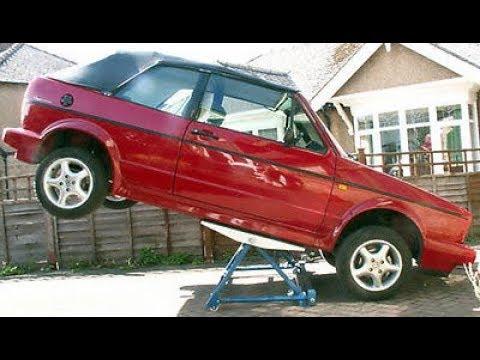 Homemade Car Lift Jacks  and Car  Ramps !