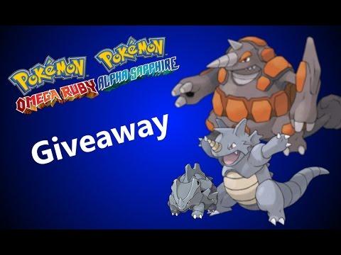 Pokémon ORAS Giveaway: 3 x 5IV Rhyhorn (Rhydon/Rhyperior) (Closed)