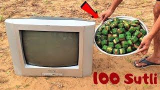 Television VS 100 Sutli | Will It Survive?