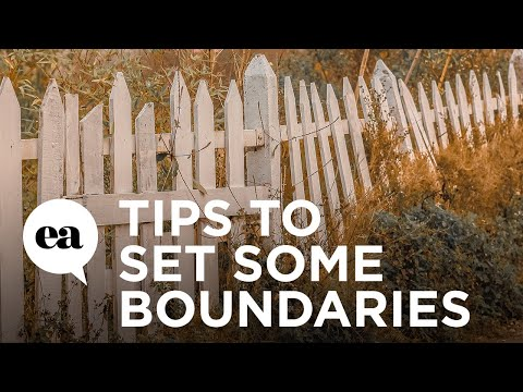 Tips to Set Some Boundaries