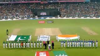 India vs pakistan national anthem