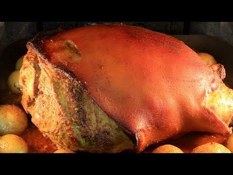 Ecuadorian Roasted Pork Leg {Hornado de Chancho}