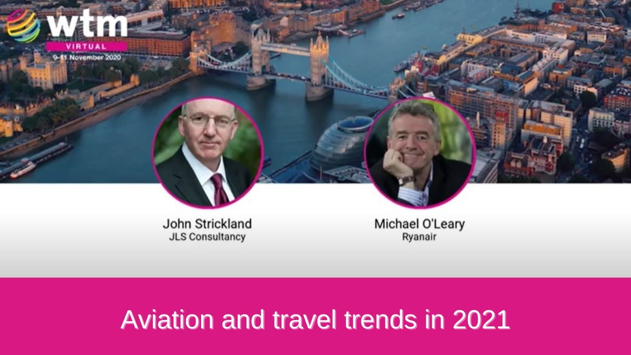 Ryanair Group CEO Michael O'Leary on aviation and travel trends in 2021